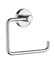 Smedbo Home Collection Toilet Roll Euro Holder without Lid - Polished Chrome