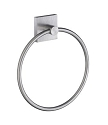 Smedbo House Collection Towel Ring - Brushed Chrome