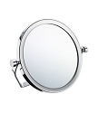 Smedbo Outline Collection Travel Mirror with Swivel Stand - Polished Chrome