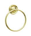 Smedbo Villa Collection Towel Ring - Polished Brass