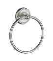 Smedbo Villa Collection Towel Ring - Brushed Nickel