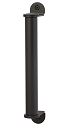 Sure-Loc Contemporary Barn Door Handle - Flat Black