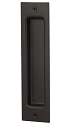 Sure-Loc Flush Barn Door Handle - Flat Black