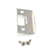 Schlage Full Lip Square Corner Strike Plate