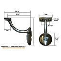Sure-Loc Heavy Duty Handrail Bracket