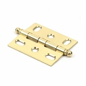Century Solid Brass Cabinet Hinge in Polished Brass