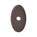 Top Knobs Sanctuary I Oval Backplate Small 1 1/4 Inch - Oil Rubbed Bronze