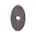 Top Knobs Sanctuary I Oval Backplate Small 1 1/4 Inch - Tuscan Bronze