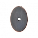 Top Knobs Sanctuary I Oval Backplate Medium 1 1/2 Inch - Tuscan Bronze
