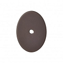 Top Knobs Sanctuary I Oval Backplate Large 1 3/4 Inch - Oil Rubbed Bronze
