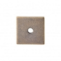 Top Knobs Sanctuary I Square Backplate 1 Inch - German Bronze