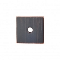 Top Knobs Sanctuary I Square Backplate 1 Inch - Tuscan Bronze