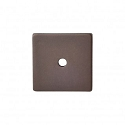 Top Knobs Sanctuary I Square Backplate 1 1/4 Inch - Oil Rubbed Bronze