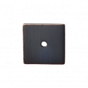 Top Knobs Sanctuary I Square Backplate 1 1/4 Inch - Tuscan Bronze