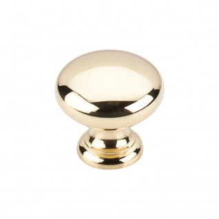 Top Knobs Somerset 1 1/4 Inch Cabinet Knob - Polished Brass