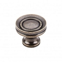 Top Knobs Somerset Button Faced 1 1/4 Inch Cabinet Knob - German Bronze