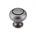 Top Knobs Normandy 1 1/4 Inch Cabinet Knob - Pewter