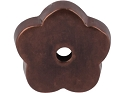 Top Knobs Aspen Collection Flower Plate - Mahogany Bronze