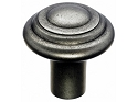 Top Knobs Aspen Button Knob - Silicone Bronze Light