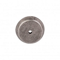 Top Knobs Aspen Round Backplate - Silicone Bronze Light