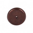 Top Knobs Aspen Round Backplate - Mahogany Bronze