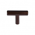 Top Knobs M1886 Hopewelll T-Handle 2 Inch-Oil Rubbed Bronze
