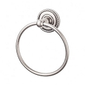 Top Knobs ED5APF Edwardian Rope Towel Ring - Antique Pewter