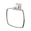 Top Knobs STK5PN Stratton Towel Ring - Polished Nickel