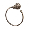 Top Knobs TUSC5GBZ Tuscany Towel Ring - German Bronze