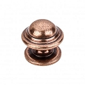 Top Knobs Britannia Collection M11 Empress Knob 1 3/8 Inch-Old English Copper