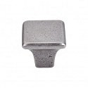 Topknobs M1809 Square Knob 1 1/4 Inch- Cast Iron