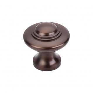 Top Knobs Britannia Collection M15 Ascot Knob 1 1/4 Inch-Old English Copper