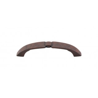 Top Knobs M1207 Lida Pull 3 3/4 Inch (C-C)- Patina Rouge