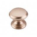 Top Knobs M1590 Flat Top Knob 1 3/8 Inch-Brushed Bronze