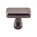 Top Knobs TK850AG Kingsbridge 1 3/8 inch Cabinet Knob - Ash Gray
