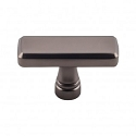 Top Knobs TK851AG Kingsbridge 1 7/8 inch Cabinet Knob - Ash Gray
