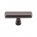 Top Knobs TK852AG Kingsbridge 2 3/8 inch Cabinet Knob - Ash Gray