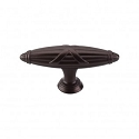 Top Knobs M931 Ribbon & Reed T-Pull 2 3/4 Inch (C-C)- Oil Rubbed Bronze