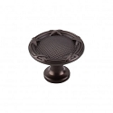 Top Knobs M943 Ribbon & Reed Knob 1 1/4 Inch (C-C)- Oil Rubbed Bronze