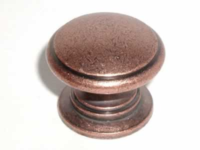 Top Knobs Somerset 1 1/4 Inch Cabinet Knob - Antique Copper