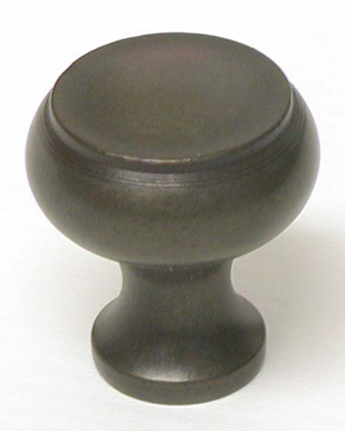 Top Knobs 1 1/8 Inch Oil Rubbed Bronze Cabinet Knob