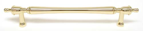 Top Knobs 18 Inch CC Appliance Handle - Polished Brass