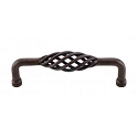 Top Knobs M1244-8 Birdcage Appliance Pull 8 Inch (C-C)- Patina Rouge