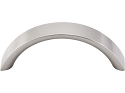 Top Knobs Nouveau 3 Inch CC Crescent Pull - Brushed Satin Nickel