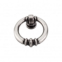 Top Knobs Tuscany 1 1/2 Inch Newton Ring Pull - Antique Pewter