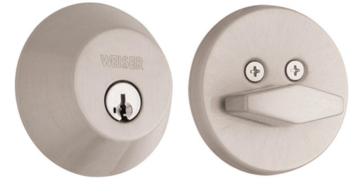 Weiser Door Hardware Gd9471 Single Cylinder Deadbolt