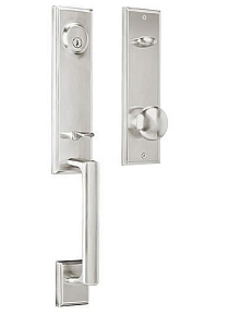 Weslock Woodward 1 Entrance Handleset