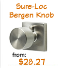 Discount Modern Knobs - Sure-Loc Bergen