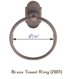 Emtek towel bar measurements