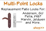 Replacement Patio Multi-point Locks